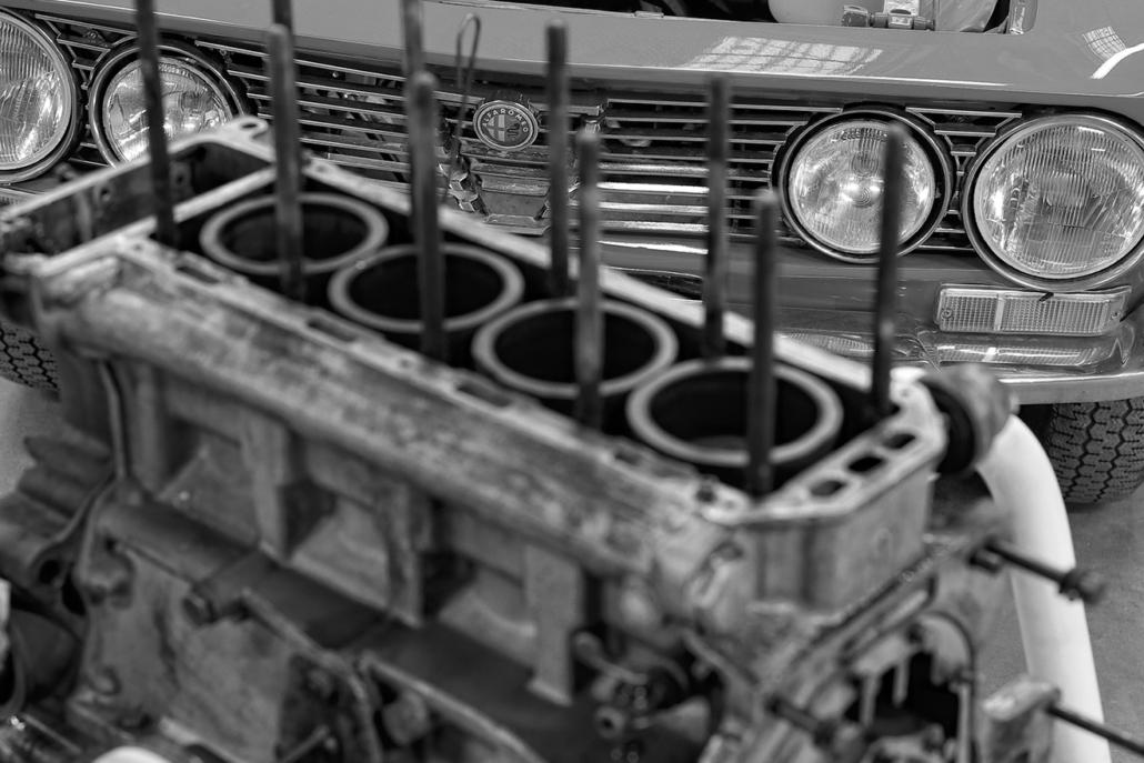 Préparation moteur : alfa-1300
