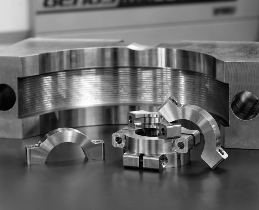 Usinage de pièces hors norme : bride de turbo
