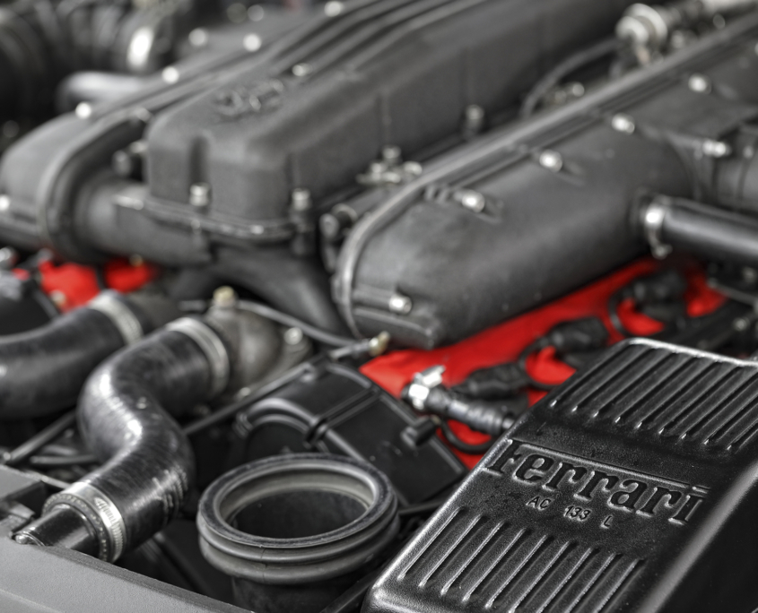 Restauration automobile de prestige : ferrari-maranello