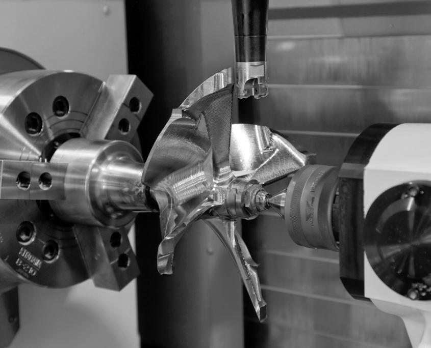 Optimisation moteurs bateaux de course : helice-semi-finition
