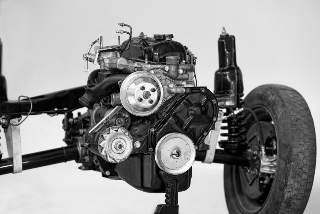 Restauration automobile de prestige : moteur-caravelle