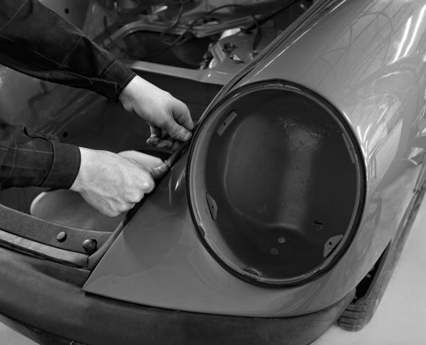 Restauration automobile de prestige : porsche-2-7-l-2