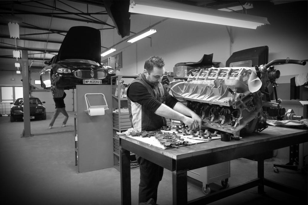 Préparation moteur : Dodge Viper
