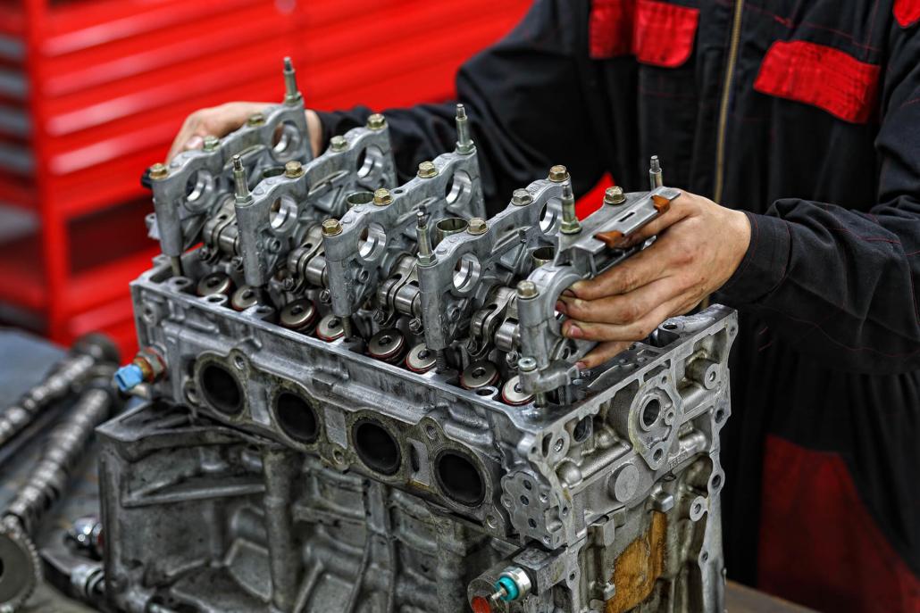 Préparation moteur :