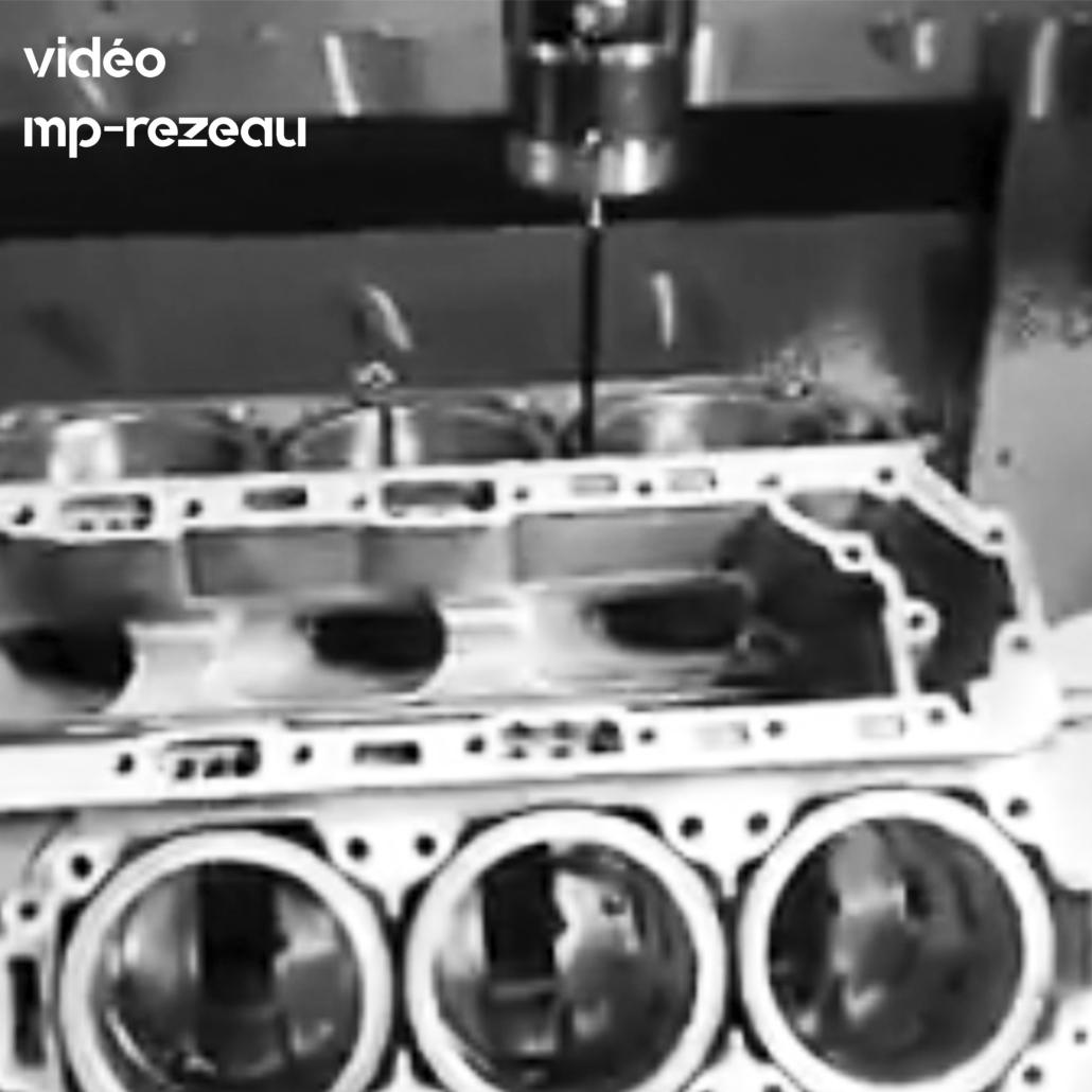 Optimisation moteurs de bateaux de course : moteur-5-axes prise de mesures
