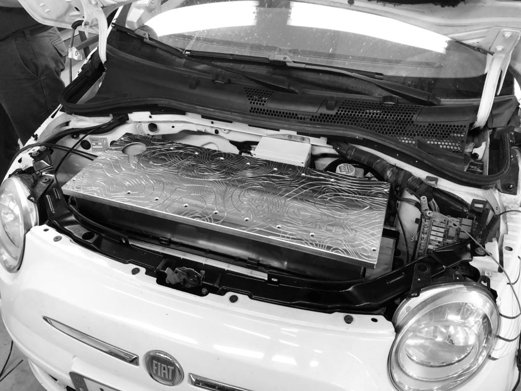 Fiat 500 : Rétrofit électrique