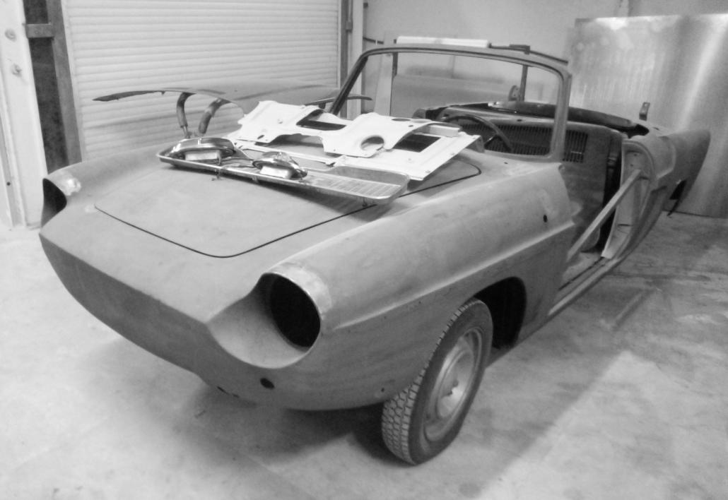 restauration automobile : Carrosserie Caravelle